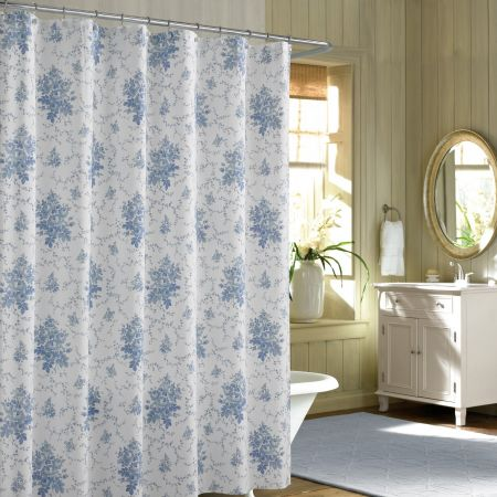 Hookless Extra Wide Shower Curtain Designer Shower Curtains