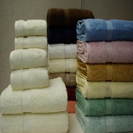 Space Living Combed Solid Egyptian cotton Towels